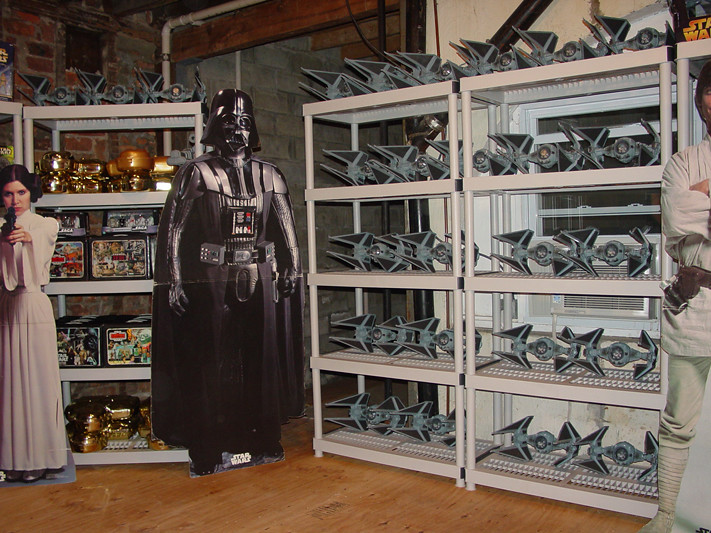 Star Wars Collection Room View4 Darklord1967 Flickr
