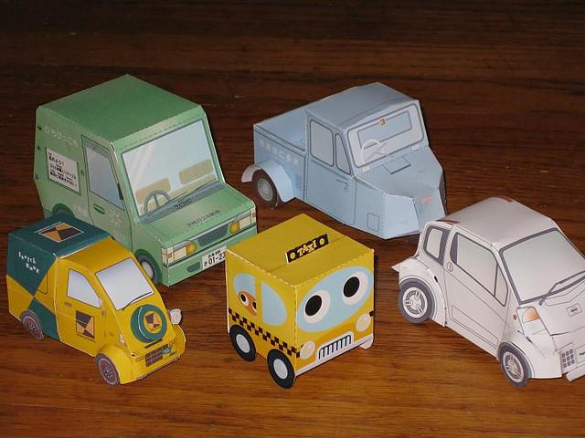 paper cars 39 n trucks vroom made these nov 08 i like pa flickr. Black Bedroom Furniture Sets. Home Design Ideas
