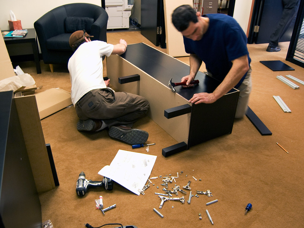 Office Furniture Delivery Assembly
