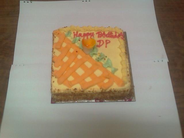Preacher Birthday Cake