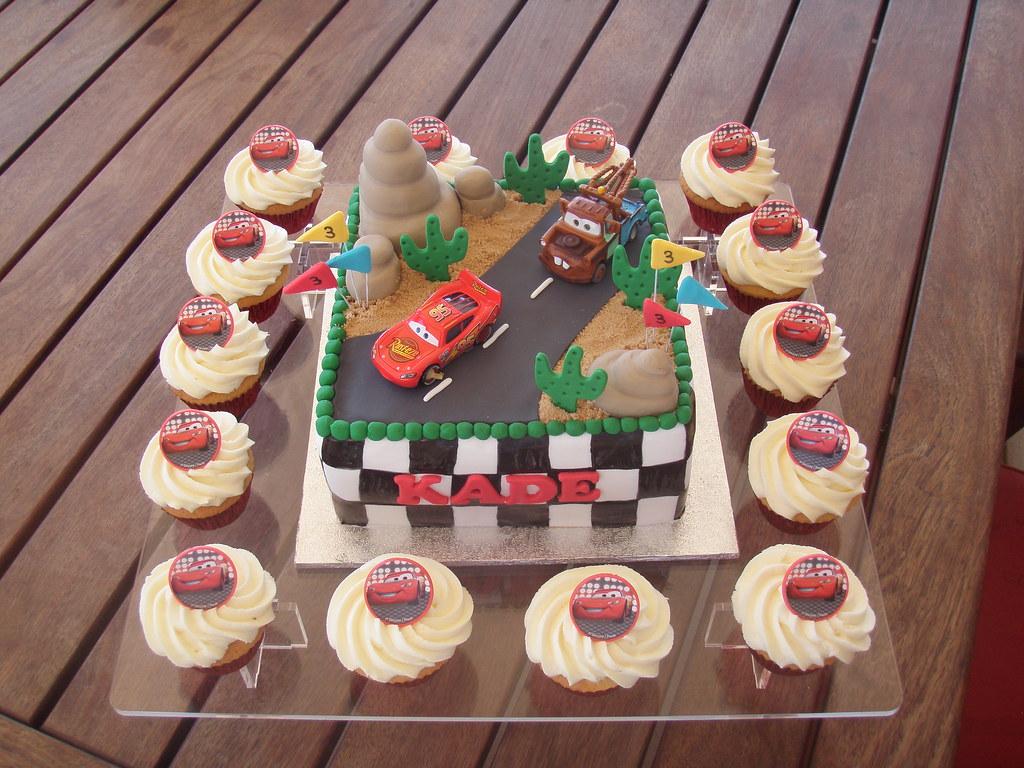 Disney Cars Birthday Cake: Kade's 3rd Birthday Disney Pixar Car