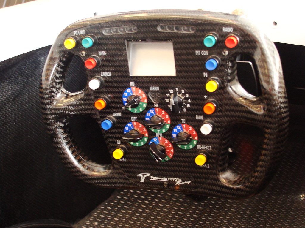 Toyota F1 Steering Wheel