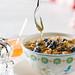Yogurt, with Granola, Blueberries and Honey 2