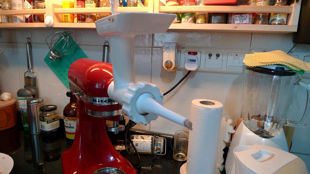Kitchen Aid Sauasage Stuffer And Grinder