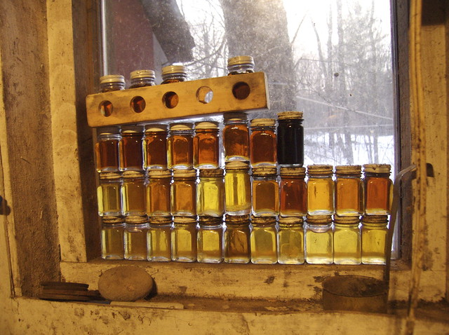 grading viscosity and color measurement methods for maple syrup