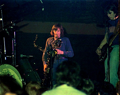 1977 - Pink Floyd - Roger + Dick Parry, sax