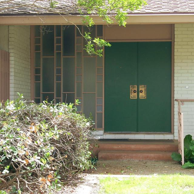 Mid century modern front door flickr photo sharing - Mid century front door ...