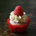A Mini Raspberry Cupcake!