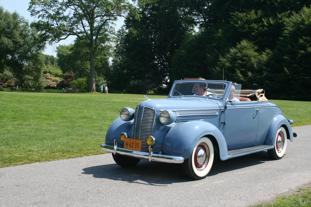 1937 Dodge Convertible | Taken at the annual Greater New Yor… | Flickr