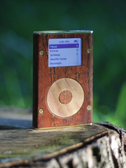 wood ipod mini 1 - Josh D | by jozaeh
