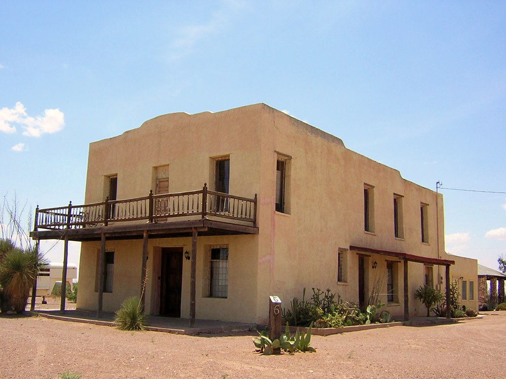 Old Adobe Building In Columbus New Mexico Sunsinger