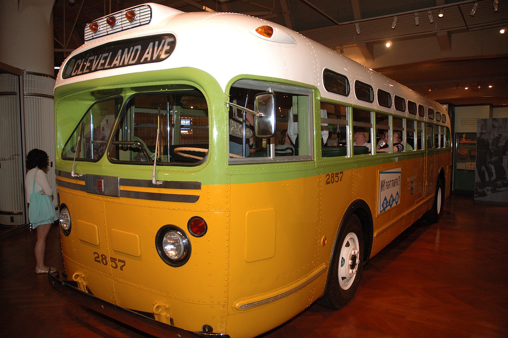 Rosa Parks Bus To Freedom On This Very Bus Rosa Parks