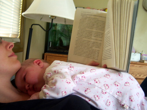 Babies cut into your reading time | by ivymae
