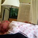 Babies cut into your reading time