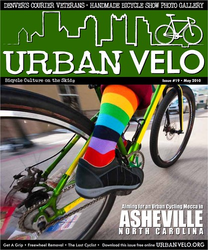 Urban Velo - Cover Shot with Presidio Pedal - May 2010 | by KEEN Footwear