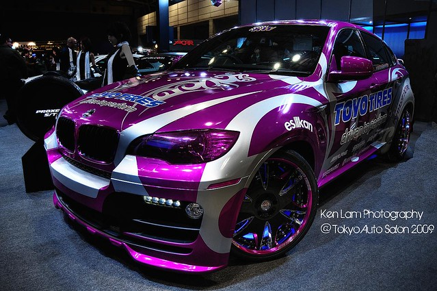 Tokyo Auto Salon 2009 Toyo Tires Bmw X6 Coupe Kenny