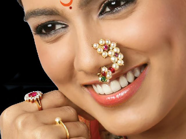 Nath Nose Ring Marathi