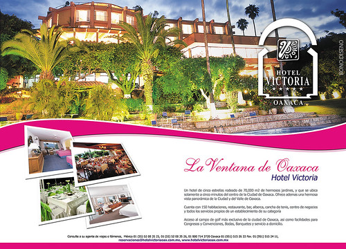 Hotel Victoria Cartel Corporativo Business Poster