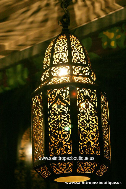 ... Moroccan lantern - Moroccan lighting fixtures | by  www.sainttropezboutique.us