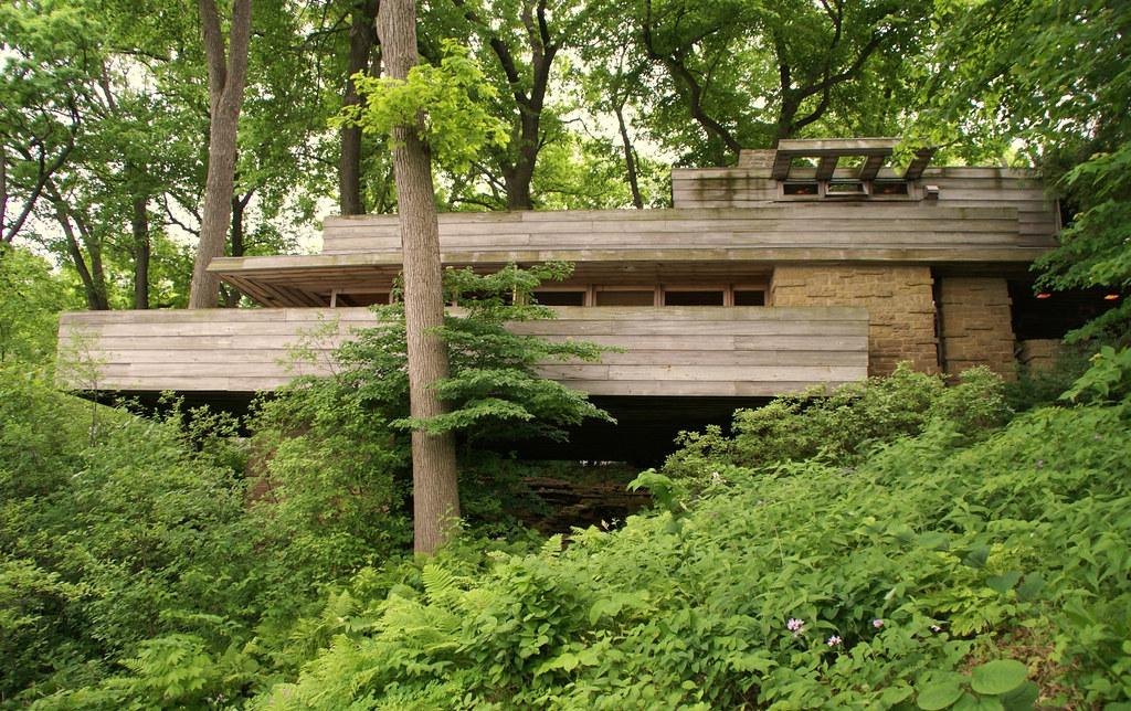 john pew house frank lloyd wright architect a. Black Bedroom Furniture Sets. Home Design Ideas