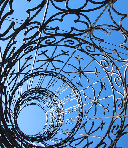 wrought iron sculpture | by Scorpocat