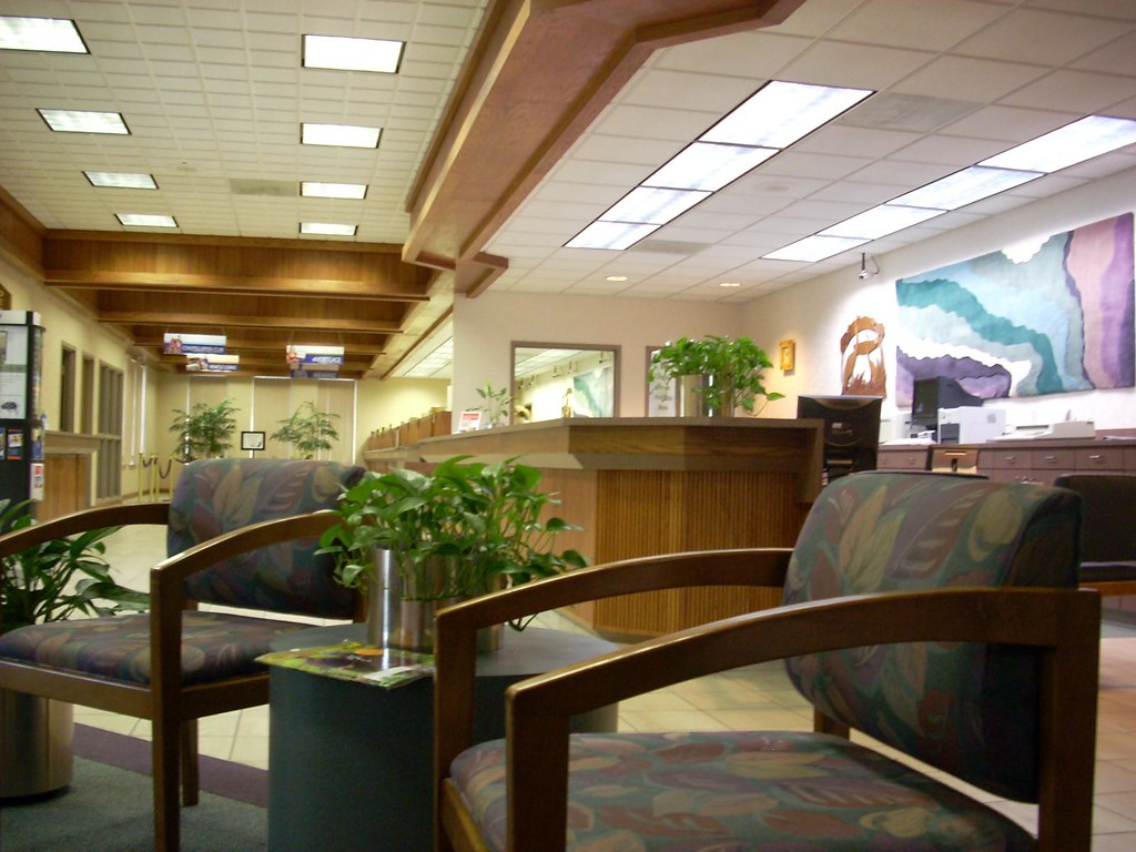 Langley Federal Credit Union interior  Langley Federal Cred…  Flickr