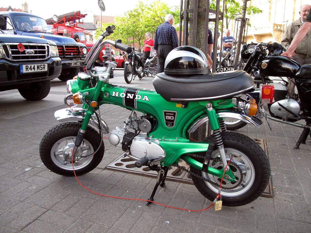 honda 50cc monkey bike honda monkey bike bsmk1sv flickr. Black Bedroom Furniture Sets. Home Design Ideas