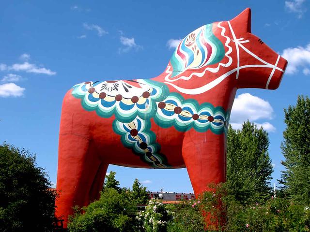 Dalarna Horse Dalarna Dala Horse