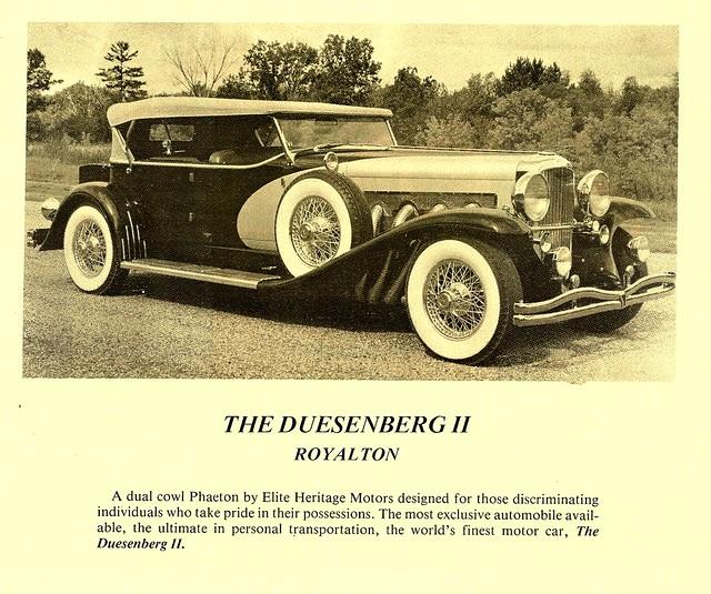 Duesenberg Replica Kit Car