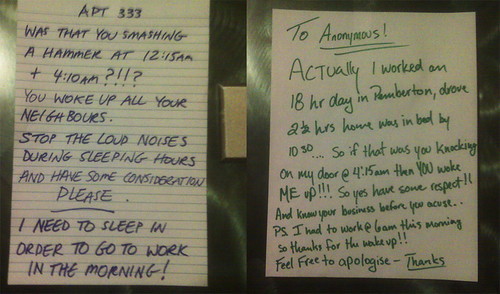 Feel free to apologise | by passiveaggressivenotes