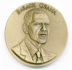 Obama Inaugural Medal | by WNPR - Connecticut Public Radio