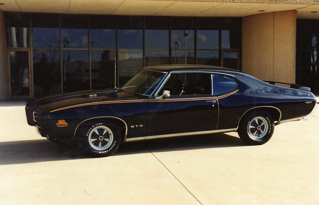 Black 1969 GTO Judge | This is a picture of my Judge taken ...