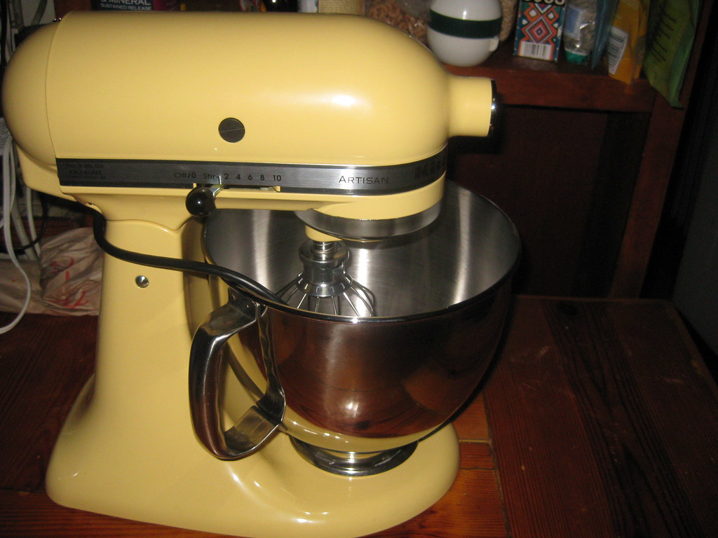 Kitchenaid Mixer In Majestic Yellow | Itu0027s Mine! All Mine!! | Flickr