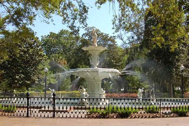 Forsyth Park Savannah Ga Flickr Photo Sharing