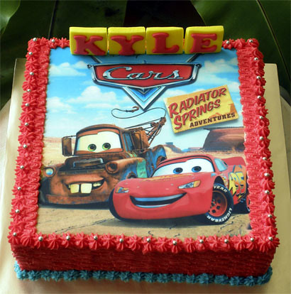 Images Of Cars Cakes For