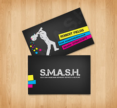 S.M.A.S.H. Business Card design | by crrrrraig