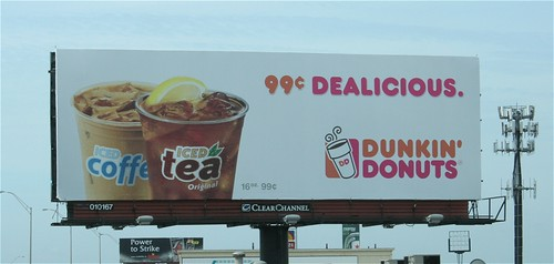 BILLBOARD - Dunkin Donuts Iced Coffee   by PHLAIRLINE COMDunkin Donuts Billboard