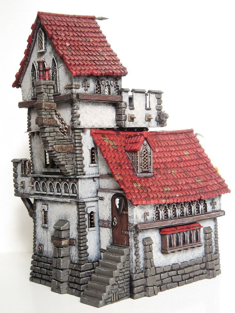 Scale Fortified Building