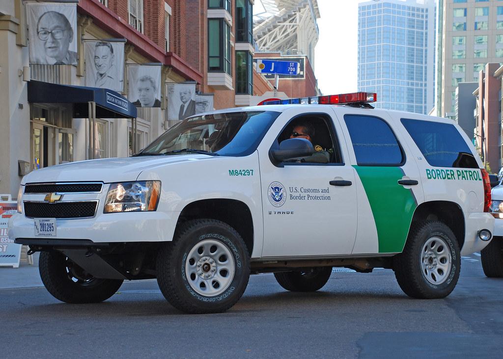 Border Patrol Chevrolet Tahoe Suv Of The U S Border