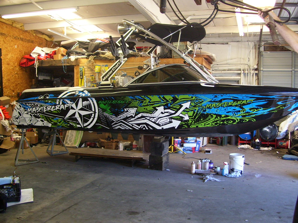 Custom MasterCraft Boat Decals AG Wraps Flickr - Custom boat decals and graphics