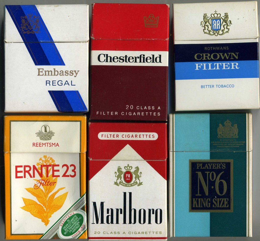 The VIrtual Tobacconist - Flip-top UK Cigarette Packets (a