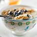 Yogurt, with Granola, Blueberries and Honey 1