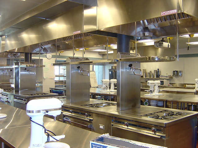 One Of The French Culinary Institute S Pastry Kitchens