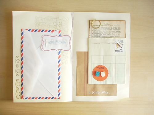 envelope book: four. | by ohhellofriend