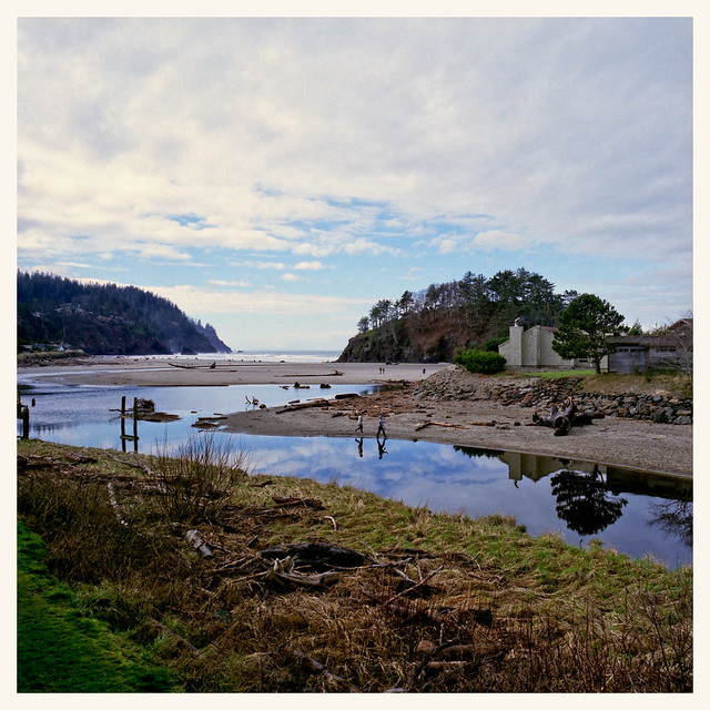 Proposal Rock In Neskowin Oregon This Is Our View From