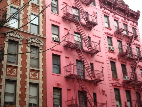 Pink Apartments