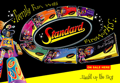 Standard Fireworks Selection Box 2005 Poster | Epic ...