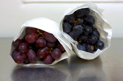 purple and black grapes | by smitten kitchen
