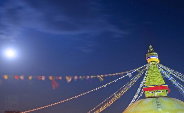 boudhanath on buddha purnima