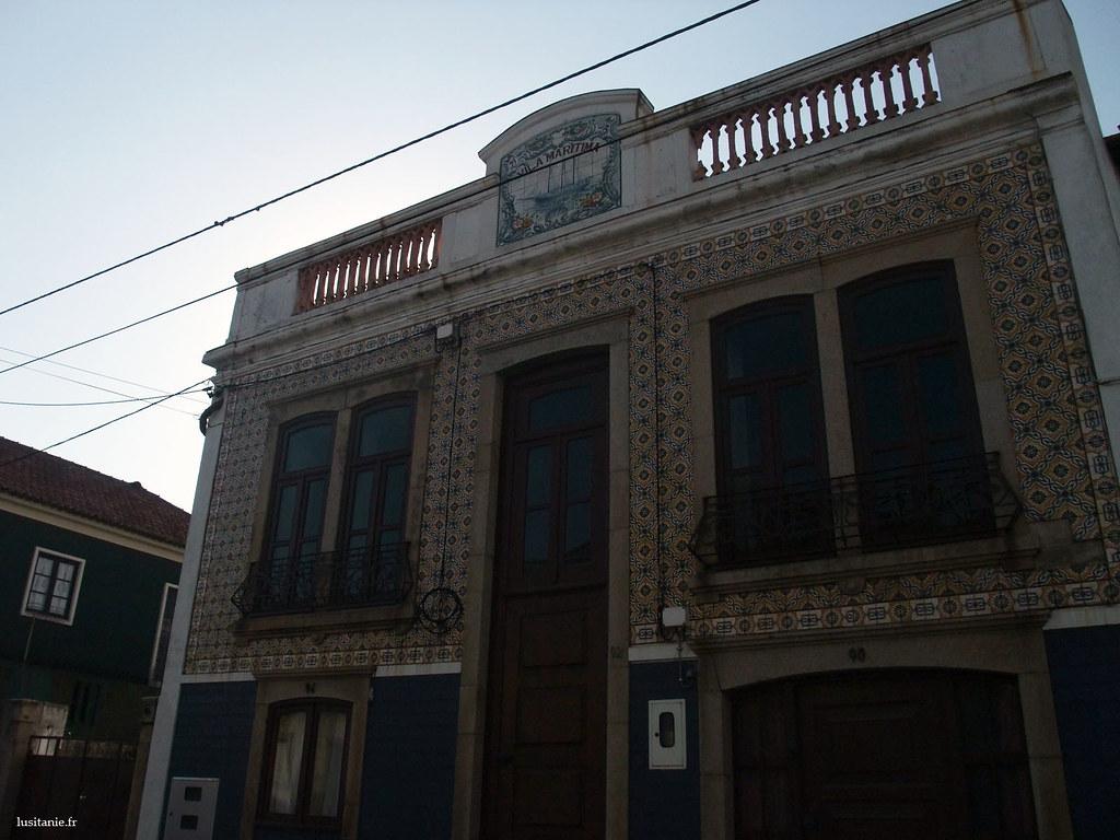 Le nom des maisons ici nous rapellent que nous sommes proches de la mer : Vila Maritima